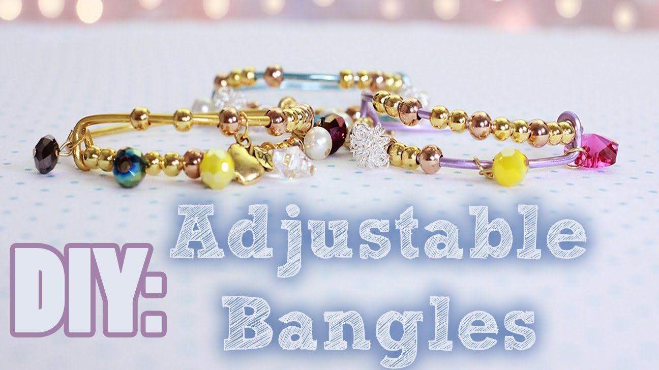 1a2e1294c6ffd3 DIY Adjustable Bangles  Arm Candy Party  she used 12 gauge wire ...