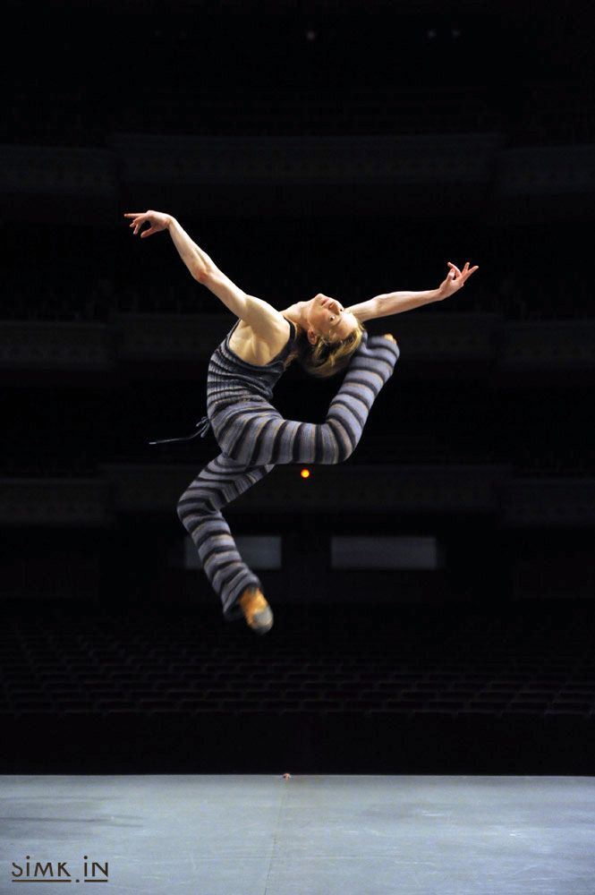 Ballet Dance Jump Leap Daniil Simkin Taipei 2009 Copyright ...