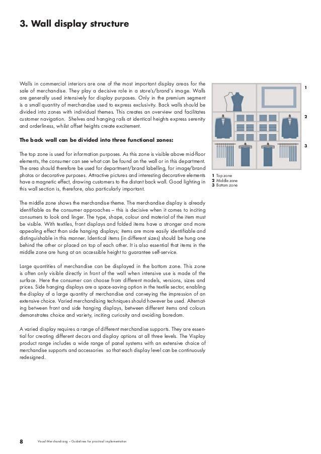 Visplay - Visual Merchandising Guidelines vm guidelines - merchandiser job description