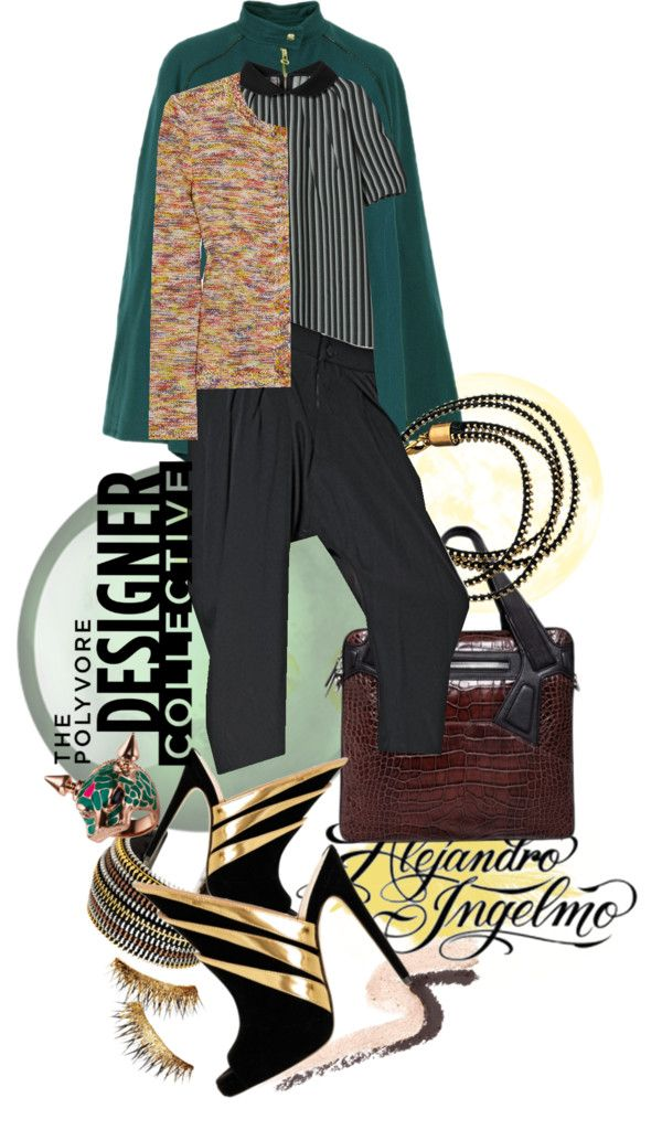 """""""'Shape of the Future with Alejandro Ingelmo - Jewel tone mix'"""" by hexy ❤ liked on Polyvore"""