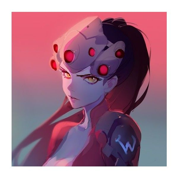 Overwatch, Fanarts par Ask ❤ liked on Polyvore featuring overwatch