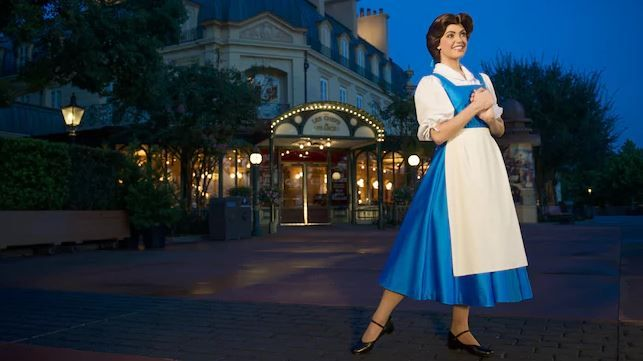 Meet Belle at Epcot