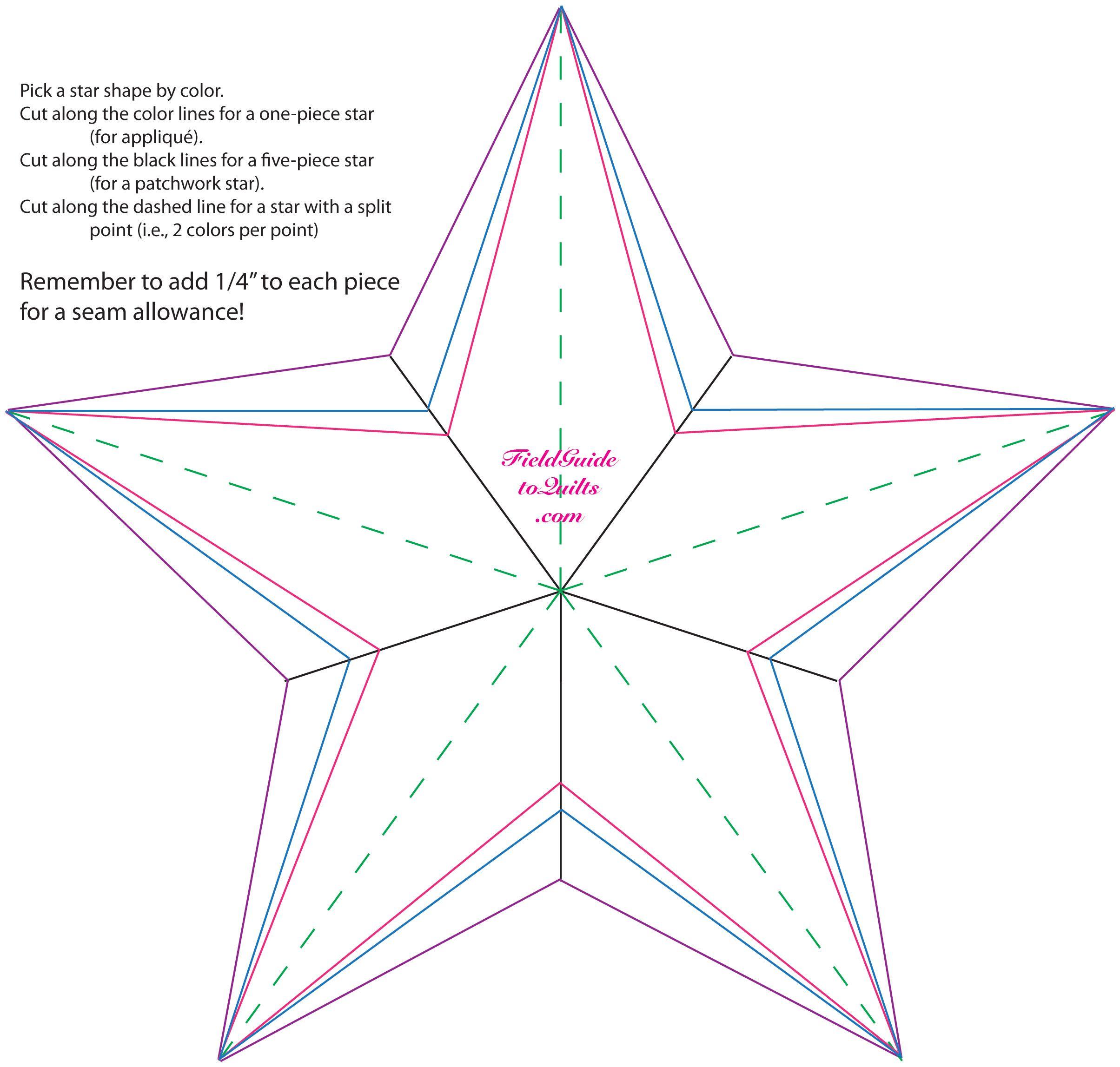 medium resolution of 5 point star quilt mockups