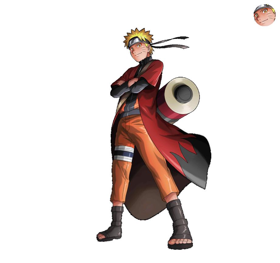 Naruto Sage Mode Render Nxb Ninja Voltage By Maxiuchiha22 On