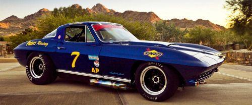 1967 Chevrolet Corvette StingRay L88 427 Trans-Am Race Car C-