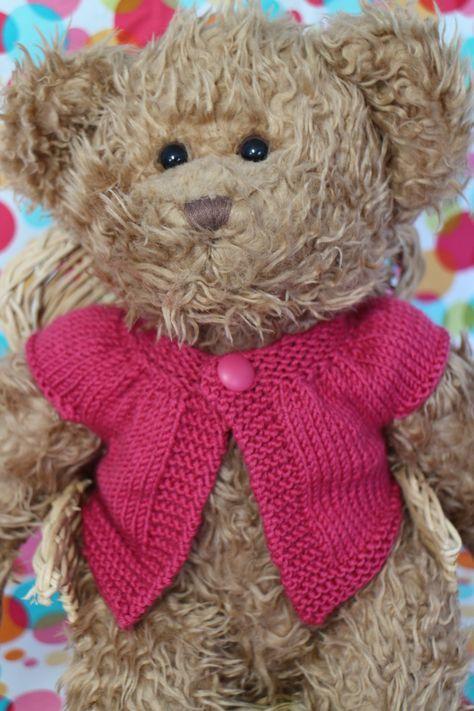 Teddy Bear Knitted Clothes Patterns Craftsmumship A Crafty Mum