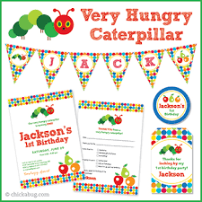 Image result for the very hungry caterpillar invitation template ...