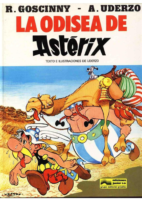 Asterix Y La Odisea Albert Uderzo Graphic Novel Comics