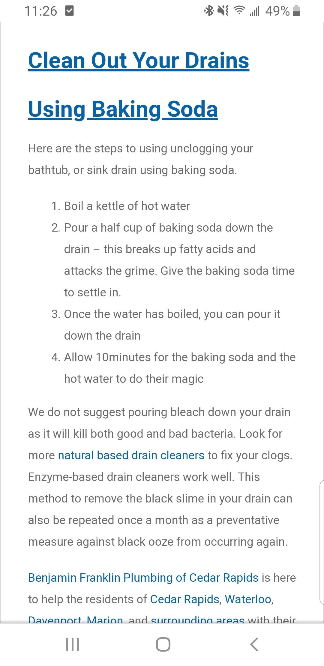 Pin by Angela Wentink on cleaning (With images) Sink