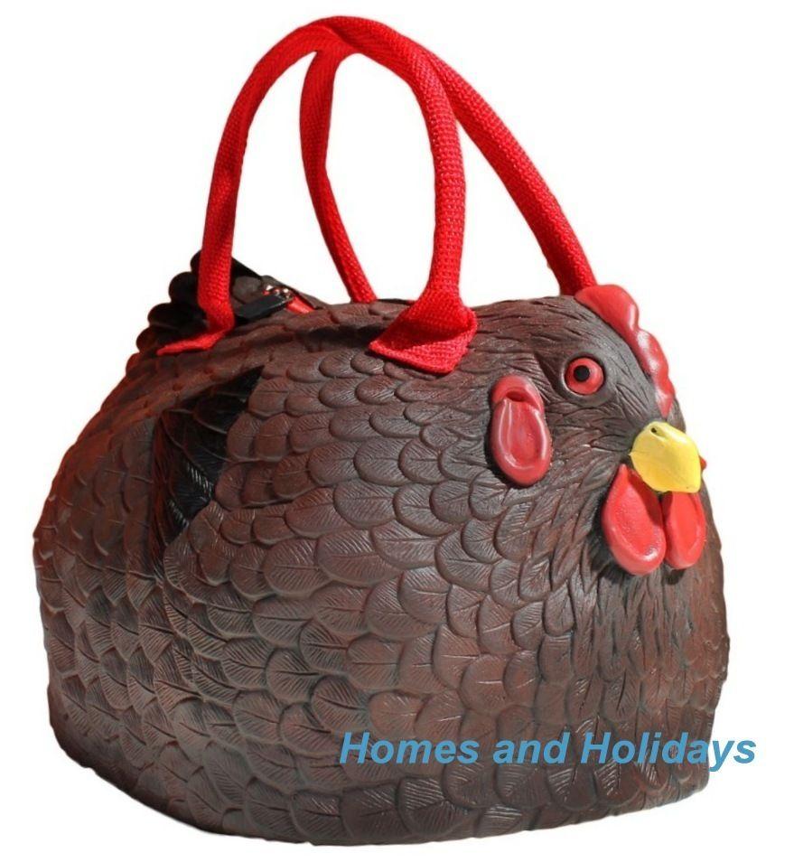"Rubber Chicken Purse The /""Hen Bag/"" Handbag"