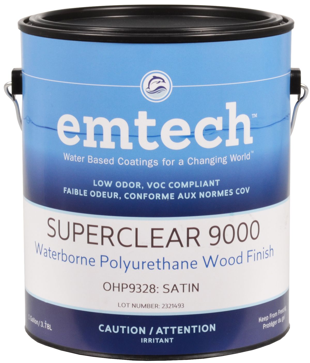 Polyurethane A Base D Eau Superclear 9000