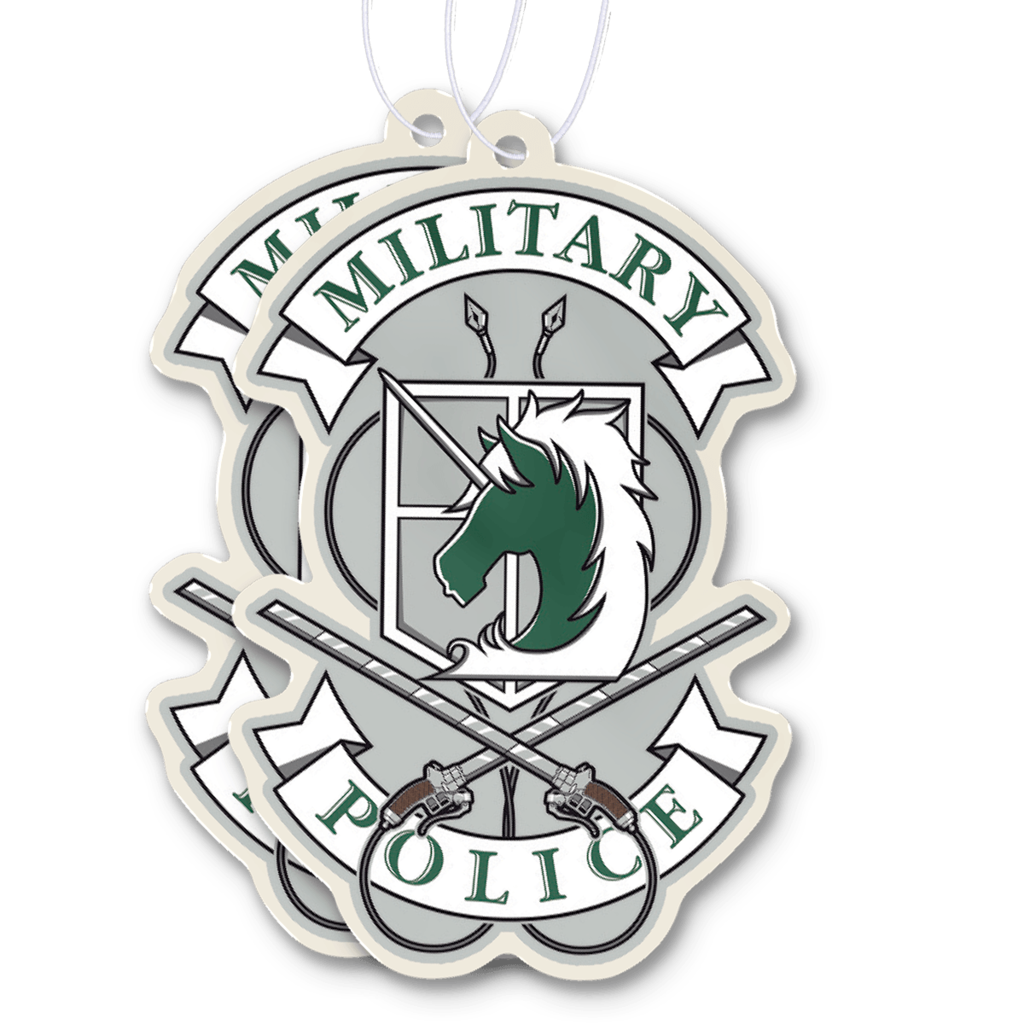 Attack on Titan Military Police Air Freshener Military
