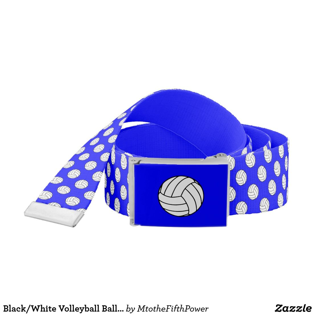 Black White Volleyball Balls Blue Belt By M To The Fifth Power Mtothefifthpower With Images Belt Blue Belt Black Belt