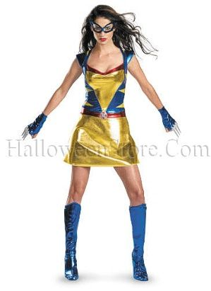Sassy Wolverine Wild Thing Adult Costume  e5197f3be54