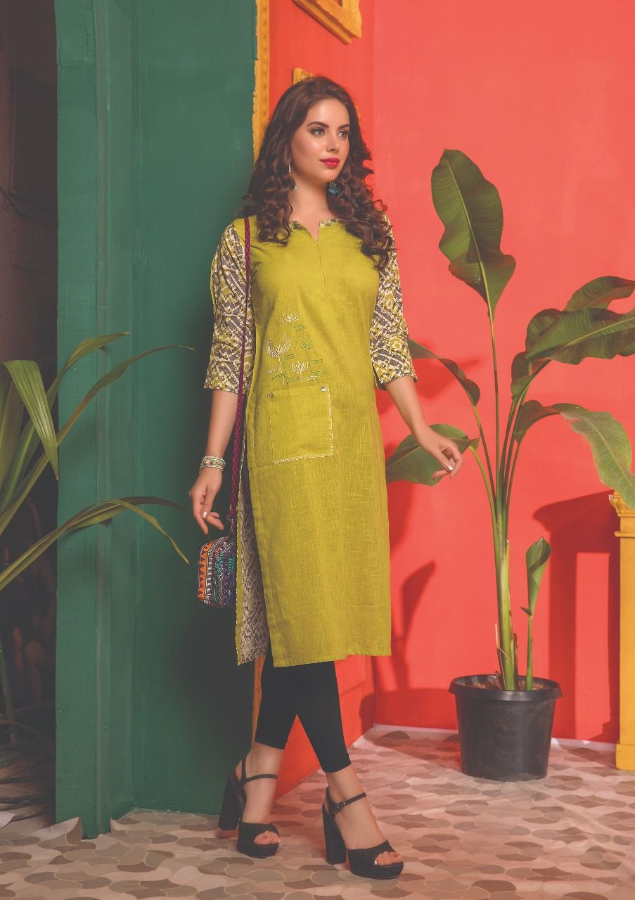 64d1e6c8c0 S4U Shivali Kantha casual summer wears kurtis wholesaler. buy online Kantha  S4U kurtis catalog At wholesale rate In catalogfashionmart. we Are wholesale  ...