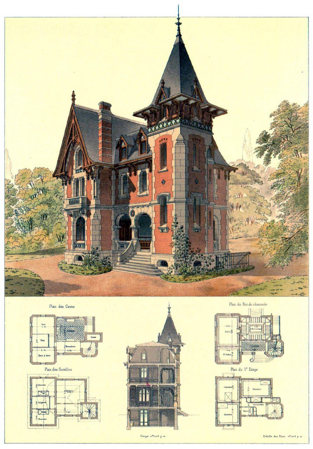 Victorian Architecture Victorian House Plans Gothic House Victorian Architecture