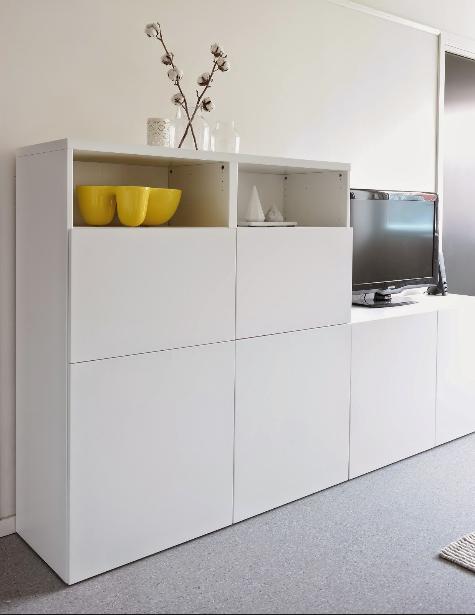 Album – 4 – Banc TV Besta Ikea, réalisations clients (série 1) – Changement de décor autour de la télé ?! Le blog générateur d'inspiration…