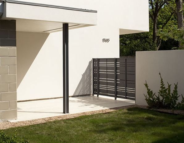 Rejas horizontales modernas rejas pinterest sons - Rejas de casas modernas ...