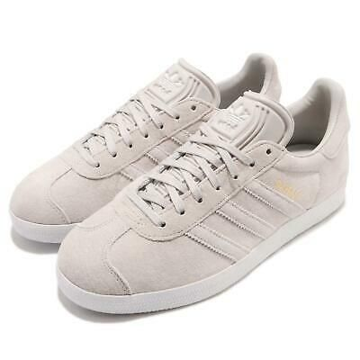 Advertisement)eBay adidas Originals Gazelle W Grey White