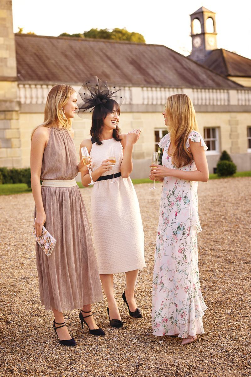 Peach dress for wedding guest  No need to worry about your wedding guest outfit anymore These