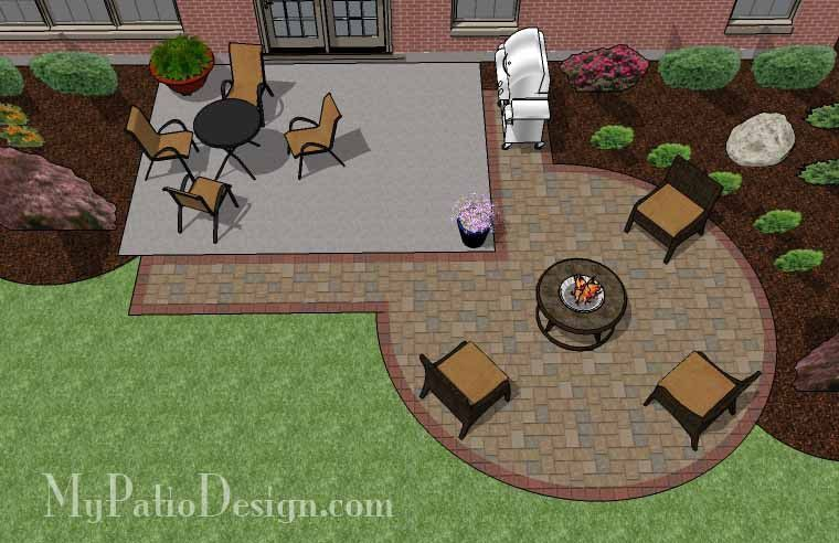 Photo of Add a touch of elegance to your existing patio with this DIY Circle Patio …