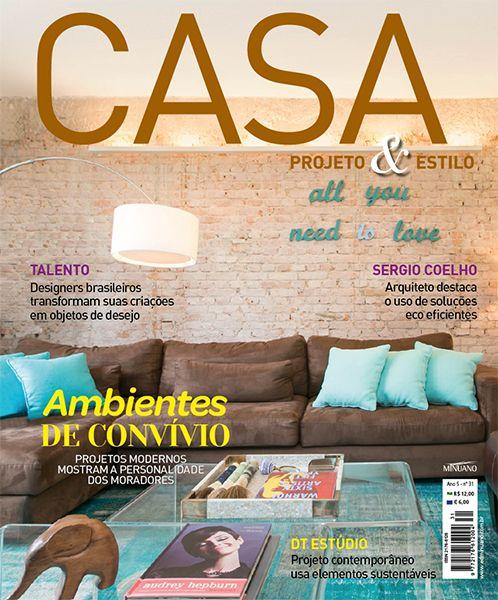 Editora Minuano - Revistas - Decoração - Casa Projeto & Estilo : CASA PROJETO & ESTILO 031
