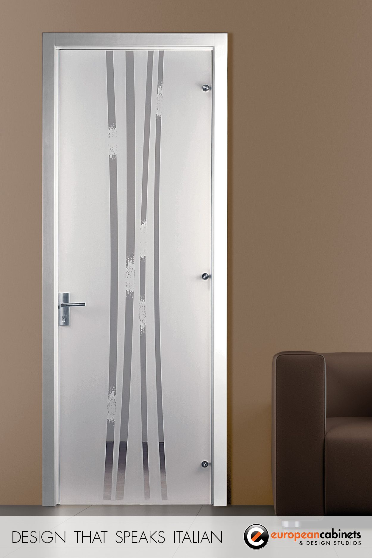 Africa white glass door by casali
