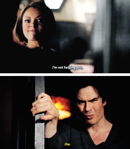 """#TVD 6x17 """"A Bird in a Gilded Cage"""" - Bonnie and Damon"""