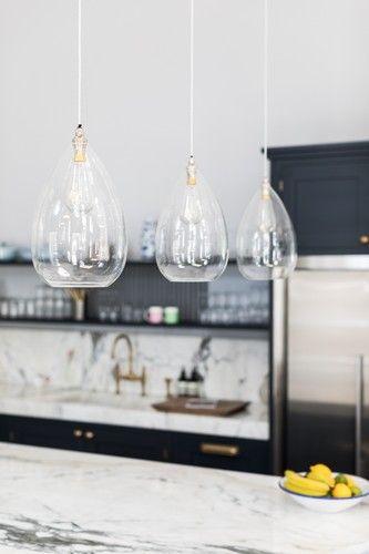 Wellington Clear Glass Pendant Light #pendantlighting