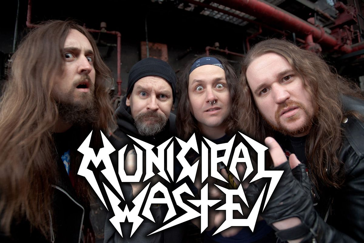ENDS MONDAY! Contest: Municipal Waste and 3 Inches Of Blood Ticket Giveaway