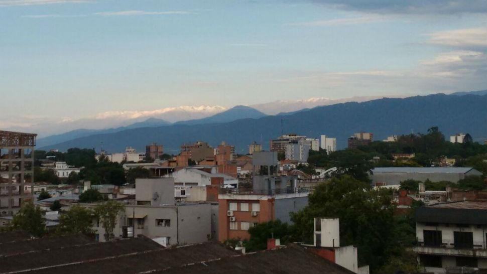 En verano, los cerros tucumanos amanecieron granizados - La Gaceta
