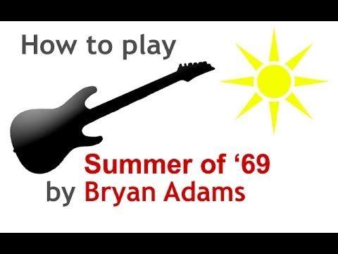 Summer of 69 chords for guitar - guitarguitar.net | GUITAR MUSIC ...