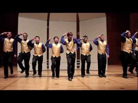 Best version of Nicki Minaj's Superbass I've ever heard. Never seen a group of guys take themselves seriously unseriously like this before