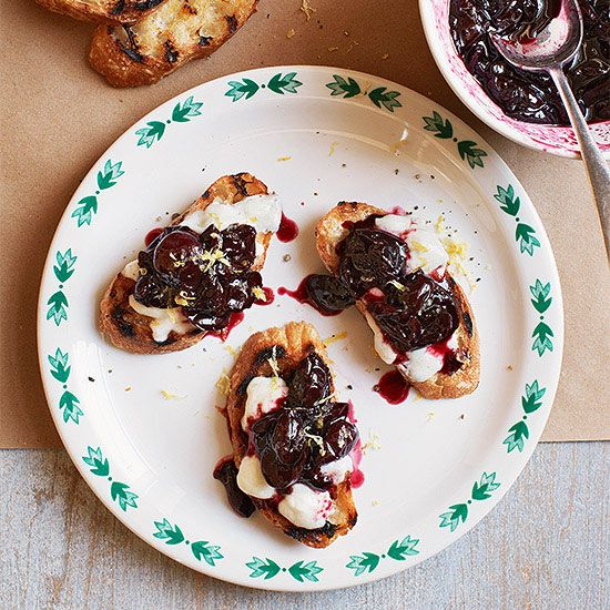 Buy a carton of cherries and make tons of seasonal dishes with them