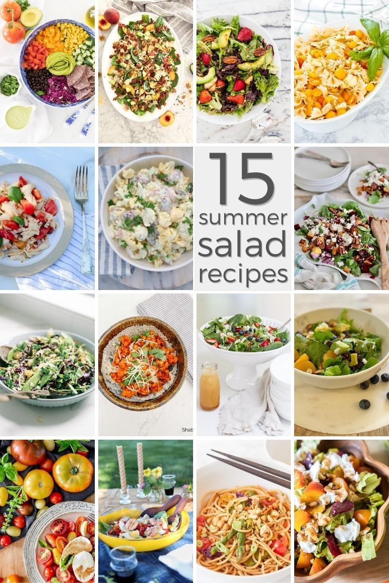 Easy Summer Salad Recipes Recipes Jennifer Maune Recipe Summer Salad Recipes Summer Salads Salad Recipes [ 1200 x 800 Pixel ]