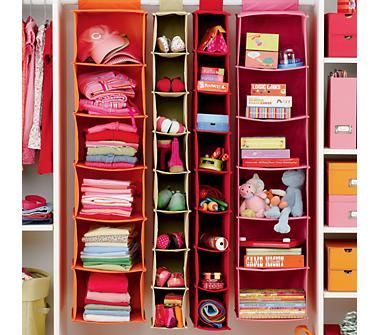 kids hanging closet organizer. Modren Closet Kidsu0027 Storage Containers Kids Colorful Canvas Hanging Closet And Organizer