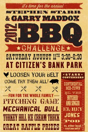 The 11th Annual Stephen Starr  Garry Maddox Barbecue Challenge