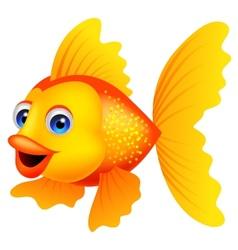 Golden Fish Cartoon Fish Vector Cartoon Fish Cartoon Sea Animals