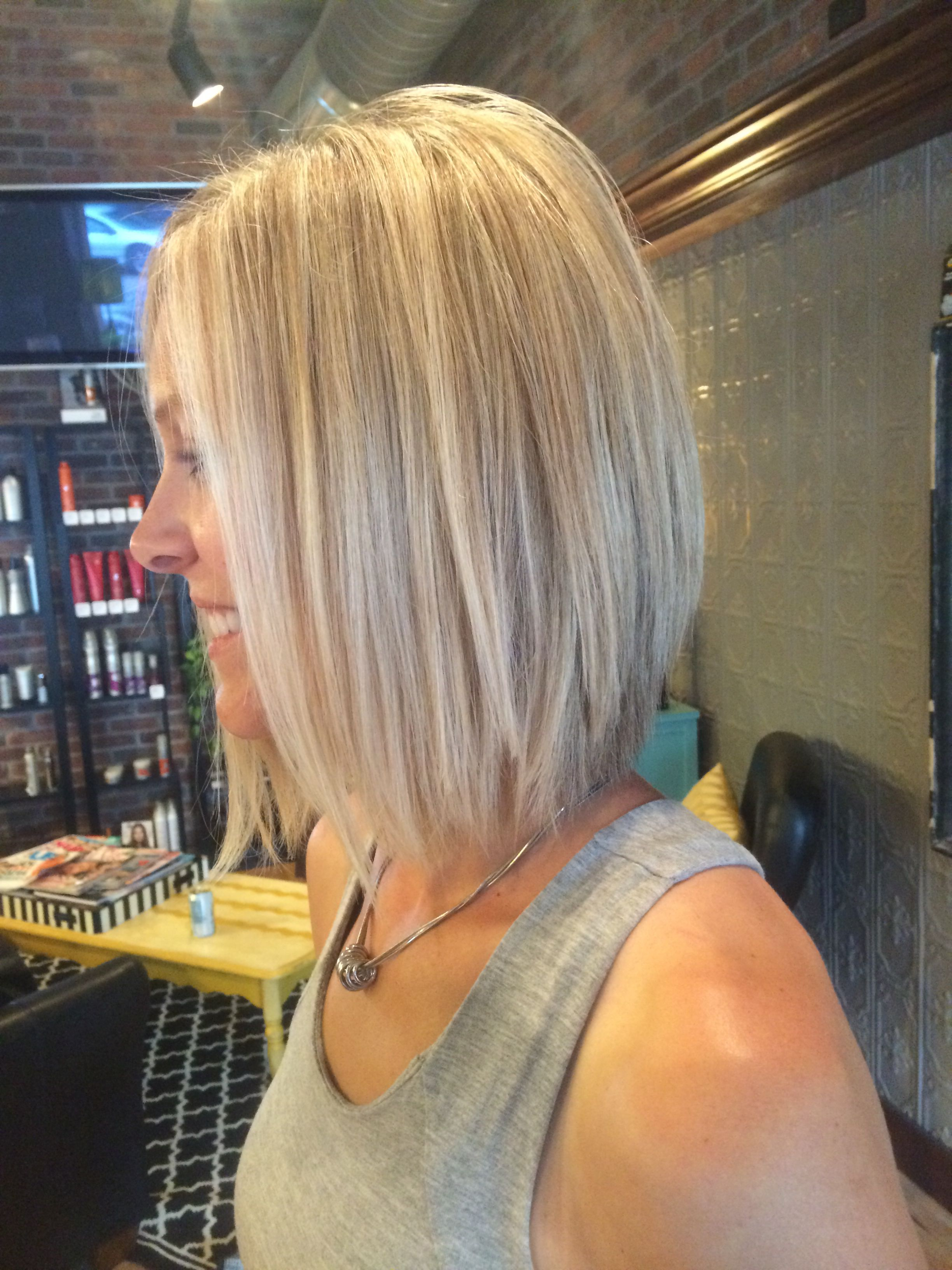 Good layers to grow out angles bob   Hair styles, Haircuts for ...