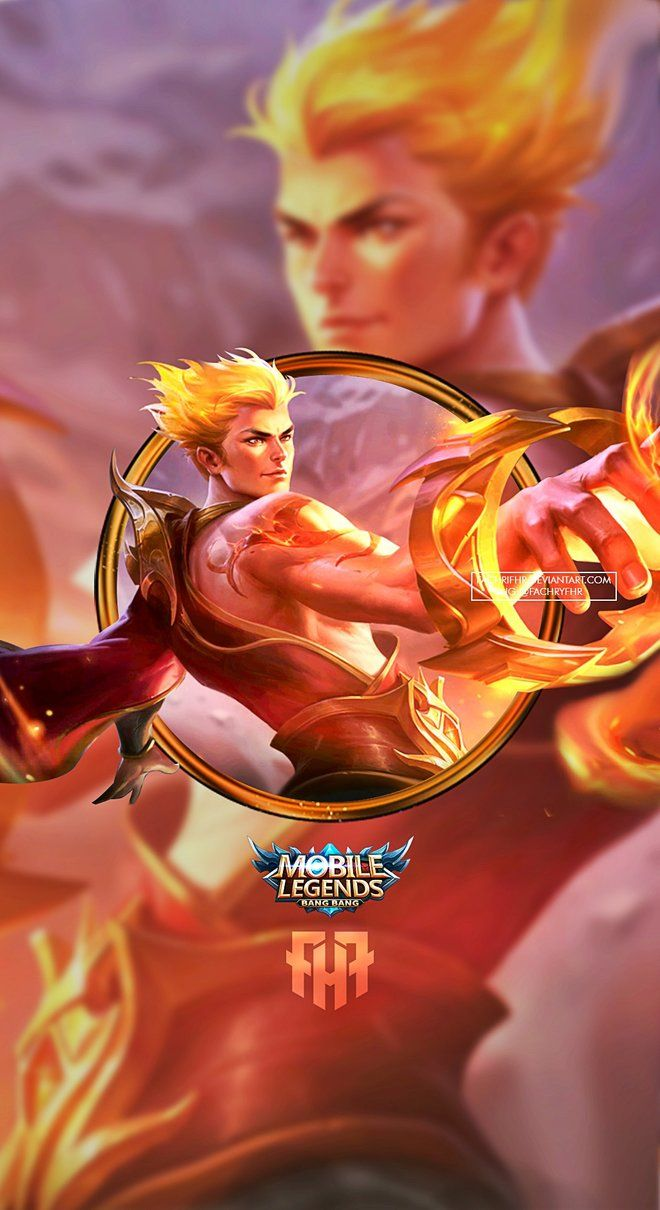 Wallpaper Phone Valir Son of Flames by FachriFHR Moba