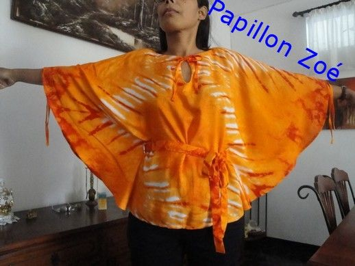 Tuto : Une tunique papillon (femme)