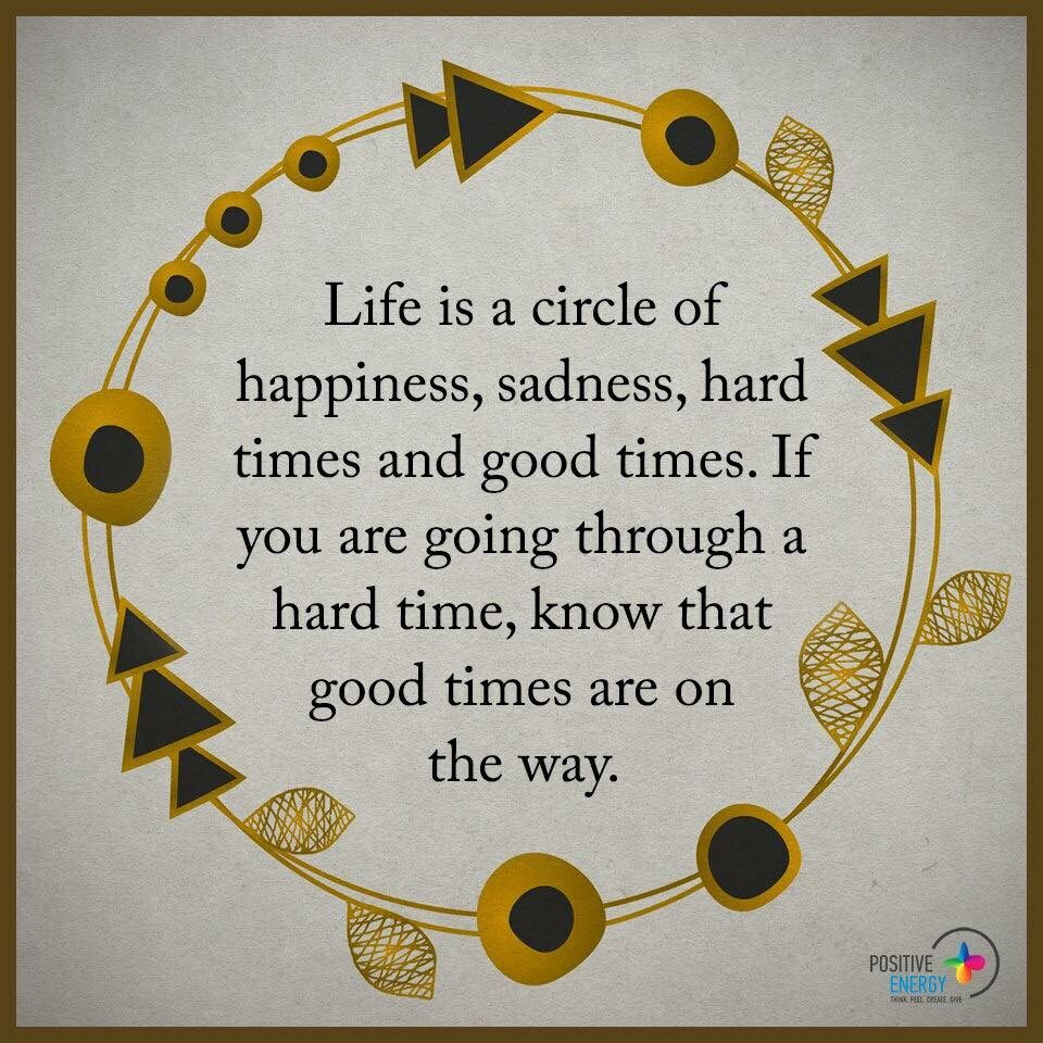 Circle of life  Thinking quotes, Circle quotes, Life quotes