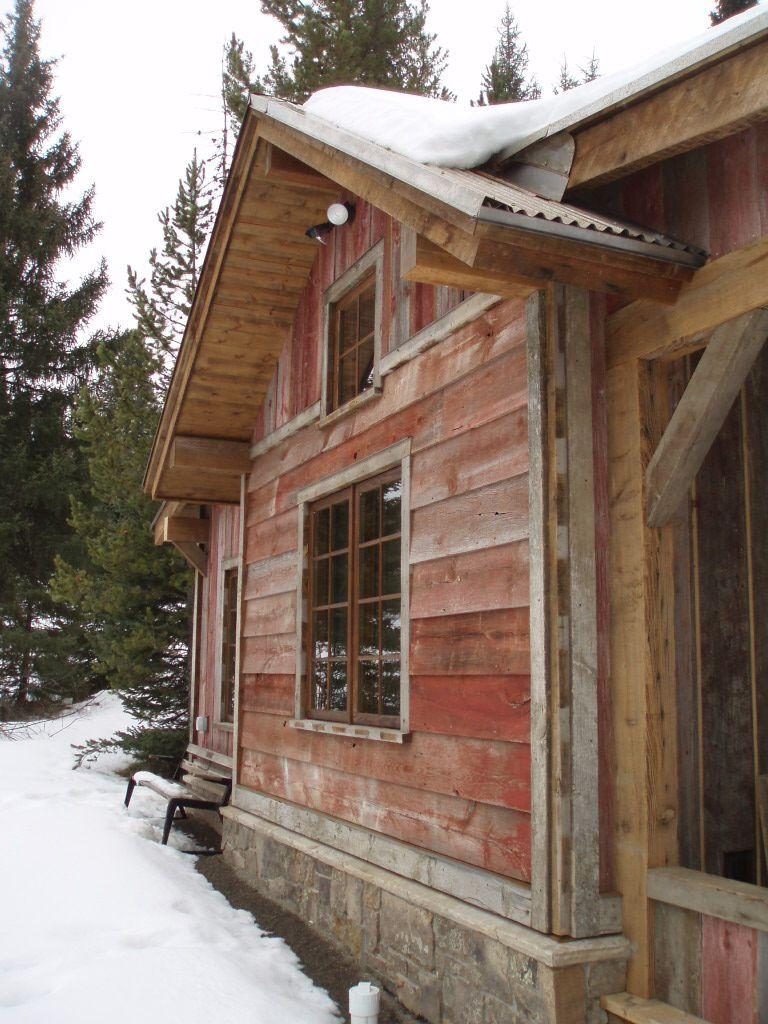 Faded Red Barnboard Siding Montana Reclaimed Lumber Co