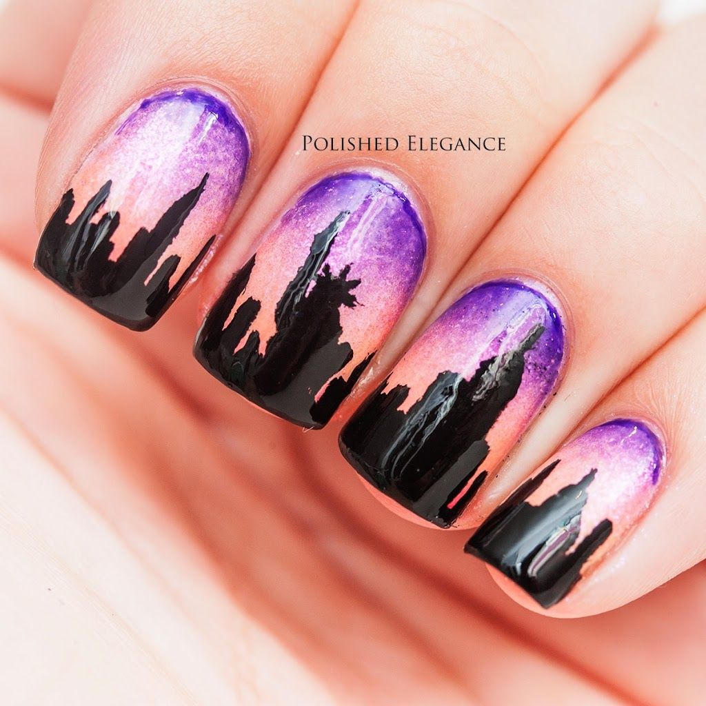 New York, here I come! | Polished Elegance | nail ideas | Pinterest