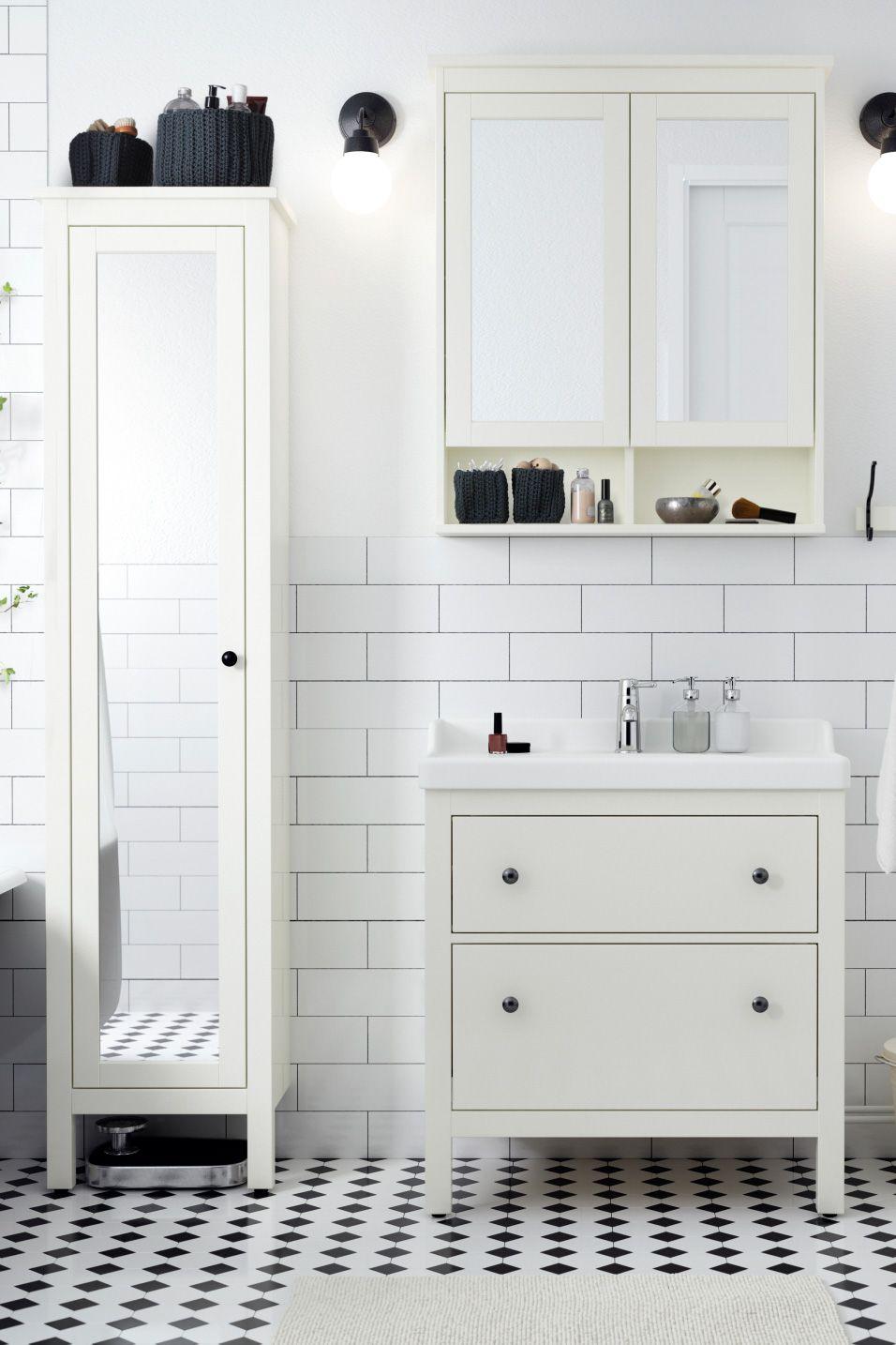 Bathroom Furniture Fixtures Meuble Salle De Bain Ikea Idees