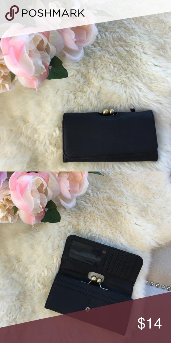 Black wallet Black wallet never used Kirra Bags Wallets