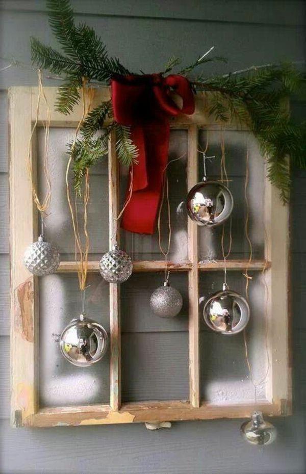 Fensterdeko für Weihnachten - wunderschöne dezente und tolle Beispiele #weihnachtsdekodiyfenster
