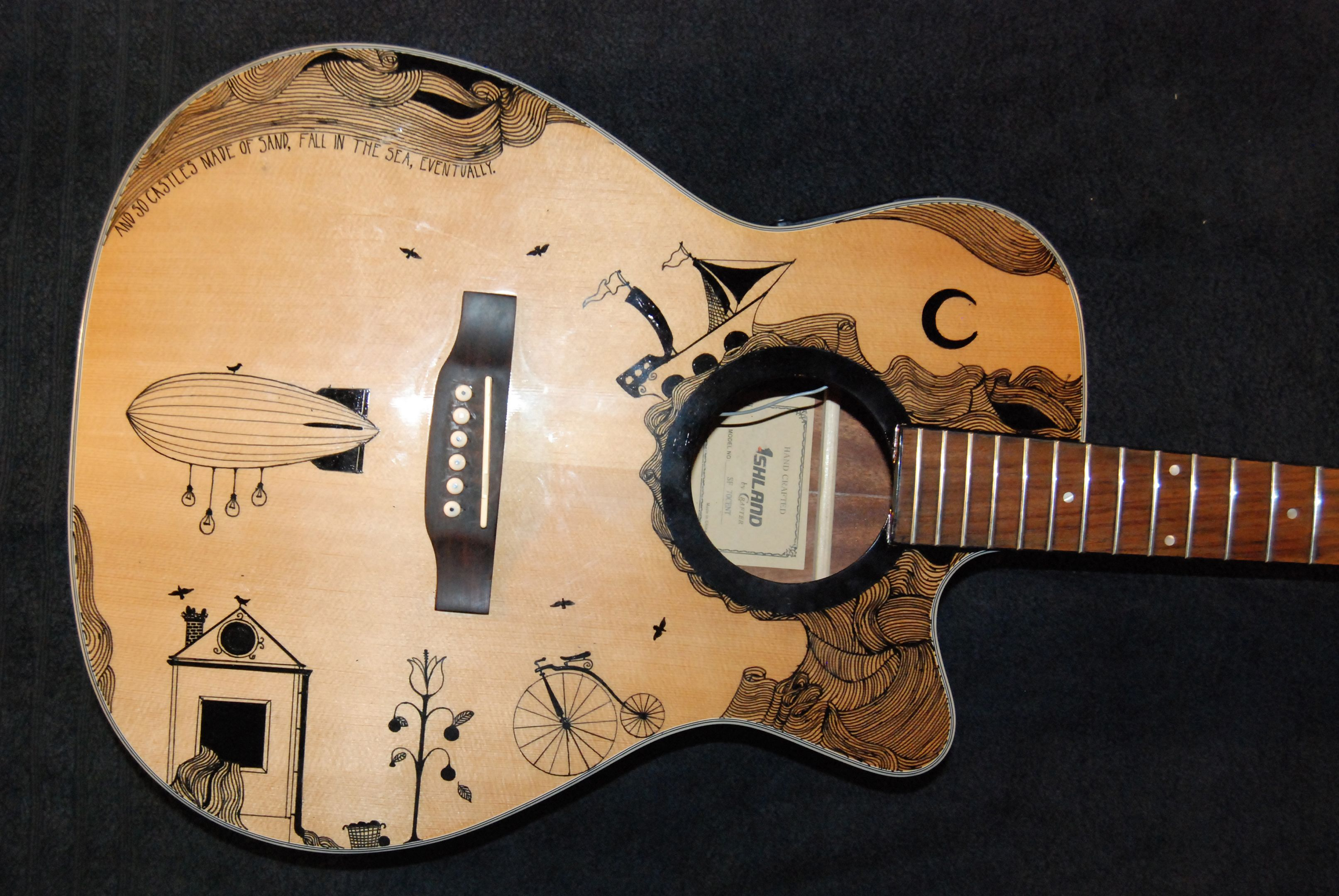 Cool Acoustic Guitar Designs