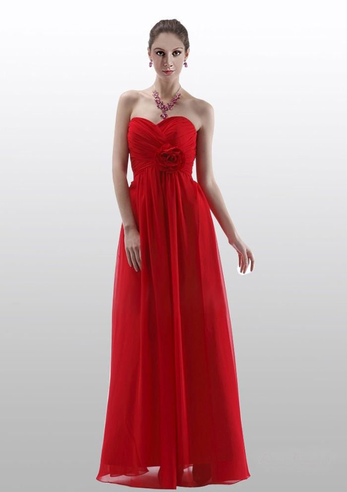 ruby red bridesmaid dresses zebra | Top 50 Ruby-Red Bridesmaid ...