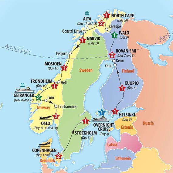 Grand Tour Of Scandinavia Summer 2015 Insight Vacations Norwegen Reisen Schweden Reise Skandinavien Rundreise
